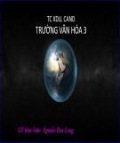 Bài giảng Vật lí 12 - Bài 27: Tia hồng ngoại và tia tử ngoại