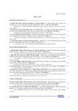 Áp dụng mô hình ARDL nghiên cứu tác động của các chỉ số giá đến thị trường chứng khoán Việt Nam