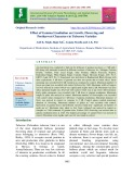 Effect of gamma irradiation on growth, flowering and postharvest characters in tuberose varieties