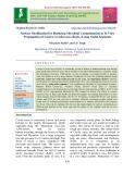 Surface sterilization for reducing microbial contamination in in vitro propagation of lasora (Cordia myxa Roxb.) using nodal segments