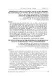 Ảnh hưởng của Tri-sodium citrate dihydrate đến hình thái học, tính chất quang của vật liệu nano phát quang TbPO4.H2O