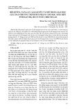 Bồi dưỡng năng lực giải quyết vấn đề trong dạy học giải toán phương trình Đi - Ô - Phăng cho học sinh THPT tỉnh Xay Nhạ Bu Ly nước CHDCND Lào