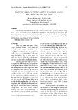 Đặc trưng quang phổ của thủy tinh phát quang BaO – B2O3 – SiO2 pha tạp Dy2O3