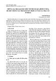 Những giá trị giáo dục đối với trẻ em qua hình tượng Dế Mèn trong tác phẩm dế mèn phiêu lưu kí của nhà văn Tô Hoài