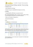 Giải bài tập SGK Tin học 12: Bài tập và thực hành 3 - Thao tác trên bảng