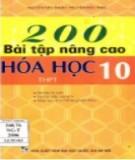 Tuyển chọn 200 bài tập Hóa học 10 nâng cao Hóa học: Phần 2