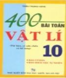 Tuyển chọn 400 bài tập Vật lý 10: Phần 2