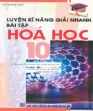 Một số phương pháp giải nhanh bài tập Hóa học 10: Phần 1