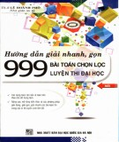 Phương pháp giải nhanh 999 bài toán chọn lọc: Phần 2