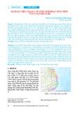 Đánh giá thực trạng cấp nước sinh hoạt nông thôn vùng Nam Trung Bộ