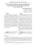 Hoàn thiện quy định về một số loại hình phạt chính tại phần chung của Bộ luật Hình sự Việt Nam năm 2015