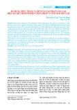 Đánh giá thực trạng và đề xuất giải pháp nâng cao hiệu quả hỗ trợ kinh phí sử dụng dịch vụ công ích thủy lợi