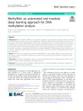 MethylNet: An automated and modular deep learning approach for DNA methylation analysis
