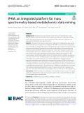 IP4M: An integrated platform for mass spectrometry‑based metabolomics data mining