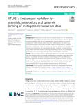 ATLAS: A Snakemake workflow for assembly, annotation, and genomic binning of metagenome sequence data