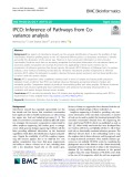 IPCO: Inference of Pathways from Covariance analysis