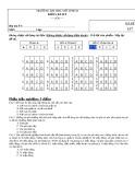 Đề thi giữa kỳ môn Kế toán chi phí (Mã đề 157 - Hệ chính quy) – ĐH Mở TP.HCM