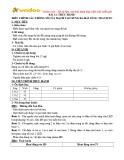 Giáo án Công nghệ 12 - Bài 12: Thực hành Điều chỉnh các thông số của mạch tạo xung đa hài dùng Tranzito