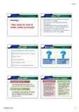 Bài giảng Kế toán hành chính sự nghiệp: Chương 1 - Trần Thị Vinh