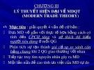 Bài giảng Kinh tế quốc tế - Chương 3: Lý thuyết hiện đại về MDQT (modern trade theory)
