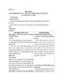 Giáo án Giáo dục công dân 12 - Bài 4: Quyền bình đẳng của công dân trong một số lĩnh vực của đời sống xã hội