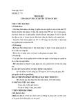 Giáo án Giáo dục công dân 12 - Bài 6: Công dân với các quyền tự do cơ bản (Tiết 1)