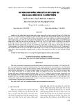 Khả năng sinh trưởng, năng suất và chất lượng thịt của gà lai 3/4 Đông Tảo và 1/4 Lương Phượng