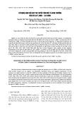 Sử dụng hàm hồi quy phi tuyến tính mô tả sinh trưởng của bò lai F1 (BBB × Lai Sind)