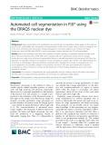 Automated cell segmentation in FIJI® using the DRAQ5 nuclear dye