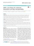 JAMI: A Java library for molecular interactions and data interoperability