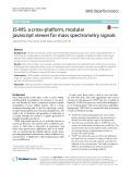JS-MS: A cross-platform, modular javascript viewer for mass spectrometry signals