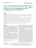 TRAVeLer: A tool for template-based RNA secondary structure visualization