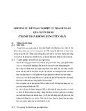 Bài giảng Kế toán ngân hàng - Chương 4: Kế toán nghiệp vụ thanh toán qua ngân hàng