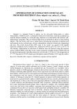 Optimization of extraction of betalain from red beetroot (Beta vulgaris var. rubra (L.) Moq)