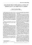 Giải pháp phân phối khóa lượng tử không dây lai ghép FSO và MMW