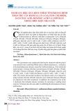 Đánh giá hiệu quả kích thích kháng bệnh thán thư cây hành lá của Calcium Chloride, Salycilic acid, Benzoic acid và Chitosan trong điều kiện nhà lưới