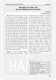Situation of Thai language teaching in Vietnamese Universities