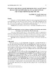 Ứng dụng một số bài tập bổ trợ nhằm nâng cao kỹ thuật đá tạt cho nam môn sinh tại câu lạc bộ Vovinam – Việt Võ Đạo Trường Đại học Phú Yên