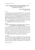 Phân lập Vitexin và khảo sát tác dụng kháng oxy hóa in vitro của các cao chiết từ lá me (Tamarindus indica L., Fabaceae)