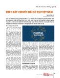 Thúc đẩy chuyển đổi số tại Việt Nam