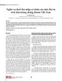 Nghĩa vụ thuế thu nhập cá nhân của nhà đầu tư trên thị trường chứng khoán Việt Nam