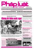 Báo Pháp luật Việt Nam - Số 268 năm 2020
