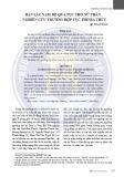 Bản sắc Nam Bộ qua tục thờ nữ thần – Nghiên cứu trường hợp tục thờ Bà Thủy
