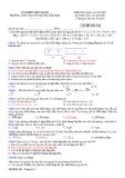 Đề thi học kì 1 môn Hóa học 10 năm 2019-2020 có đáp án - Trường THPT chuyên Huỳnh Mẫn Đạt