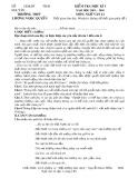 Đề thi học kì 1 môn Ngữ văn 12 năm 2019-2020 có đáp án - Trường THPT Lương Ngọc Quyến