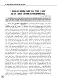 """Ý nghĩa lịch sử của phong trào """"khỏe vì nước"""" do chủ tịch Hồ Chí Minh đích thân phát động"""