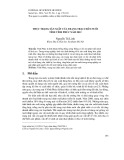 Thực trạng sản xuất của trang trại chăn nuôi tỉnh Vĩnh Phúc năm 2012