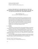 Đánh giá tính hấp dẫn của trò chơi dân gian Việt Nam đối với khách du lịch (trường hợp trò chơi dân gian diều sáo ở xã Đại Trà, huyện Kiến Thụy, thành phố Hải Phòng)