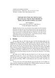 """Phối hợp một số phương pháp dạy học khi giảng dạy """"phương pháp đổi biến số trong tìm tích phân không xác định"""""""