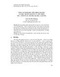 Nâng cao tính thực tiễn trong dạy học các học thuyết kinh tế của chủ nghĩa Mác – Lênin ở các trường đại học, cao đẳng